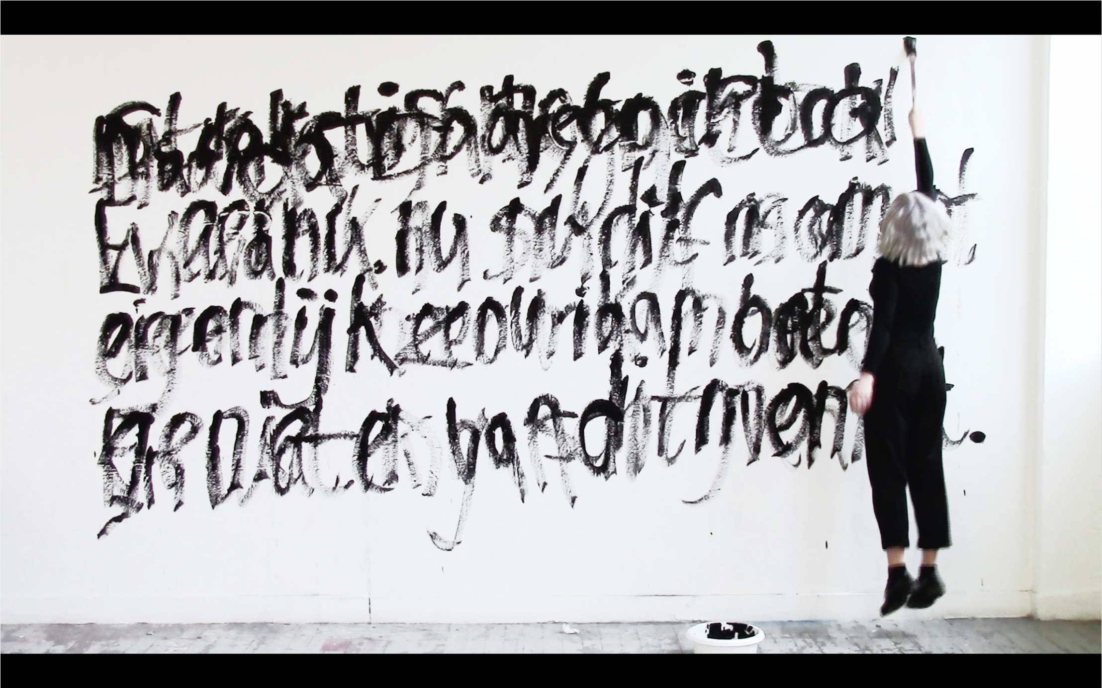 A video performance in which I express my tendency to constantly overthink. 2015.
